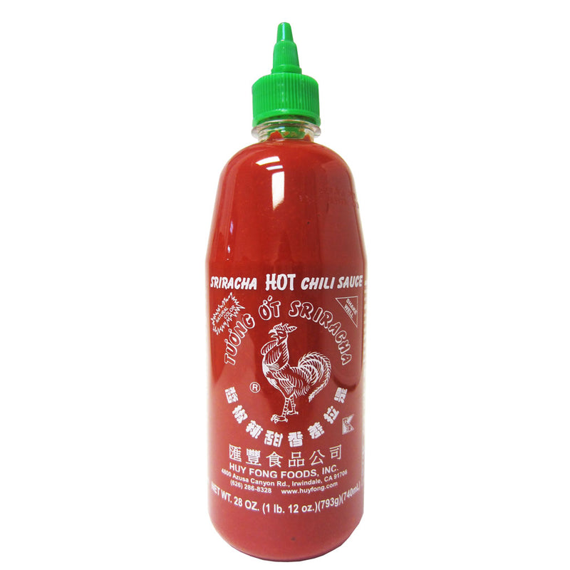 Huy Fong Sriracha Hot Chili Sauce, 12X28OZ