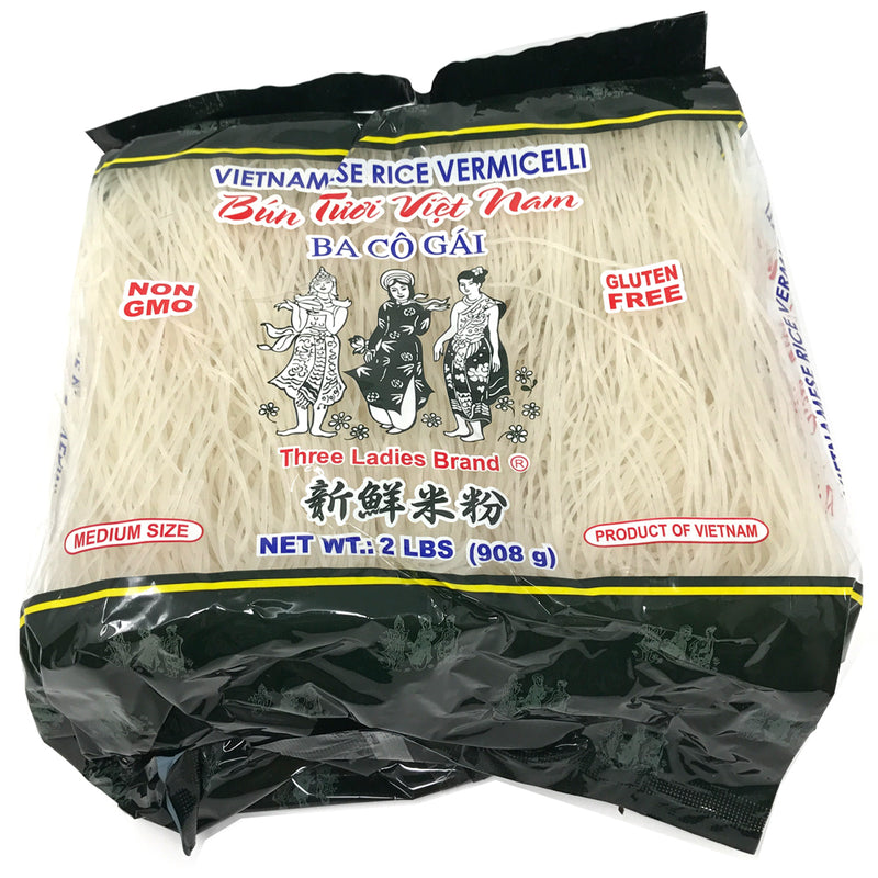 Three Ladies Vietnamese Rice Vermicelli; 18x32OZ