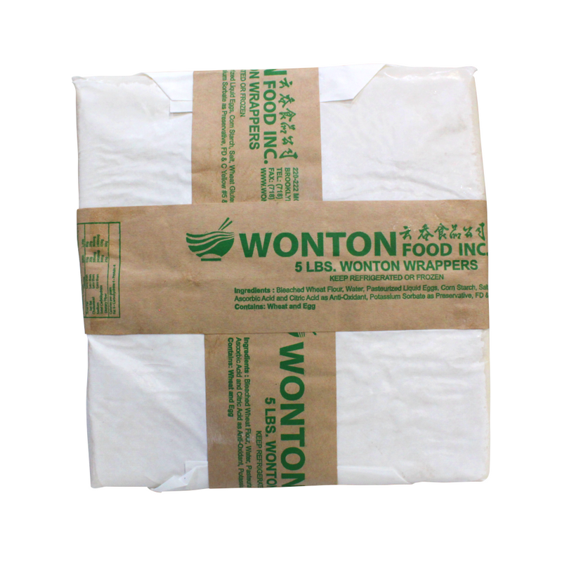 FZ Golden Bowl Wonton Skin 4x4, 40#