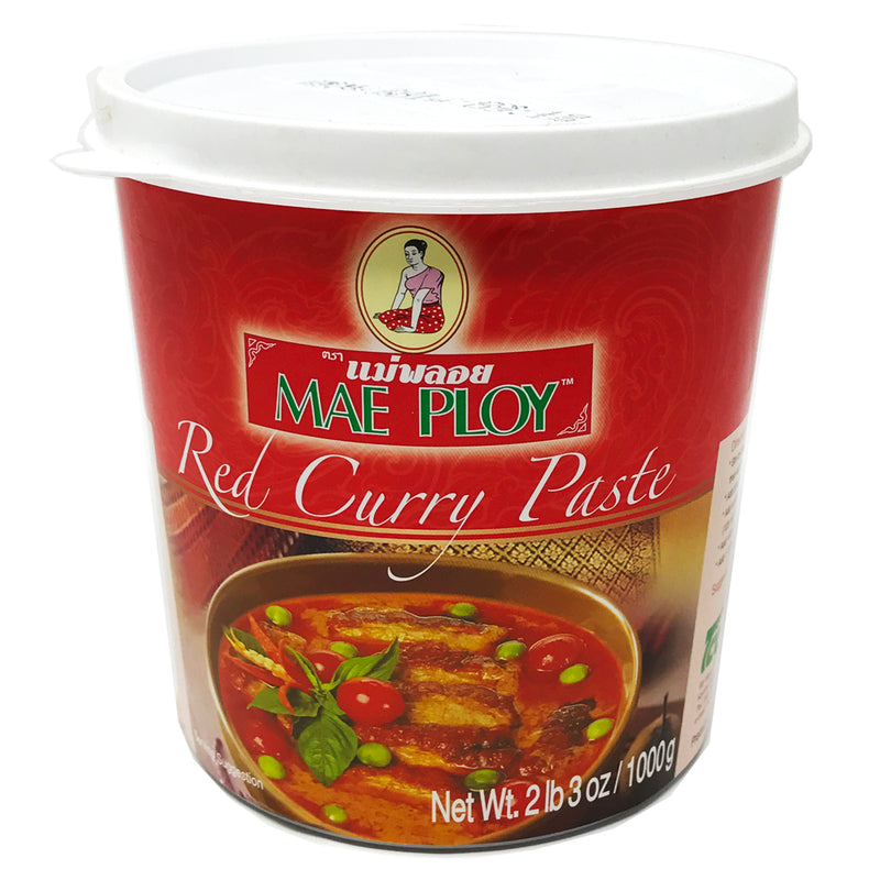 Mae Ploy Red Curry Paste, 12X35OZ