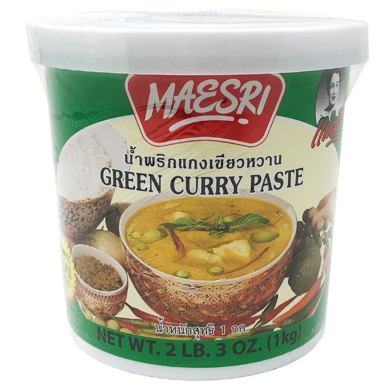 Maesri Green Curry Paste, 6X2LB3OZ