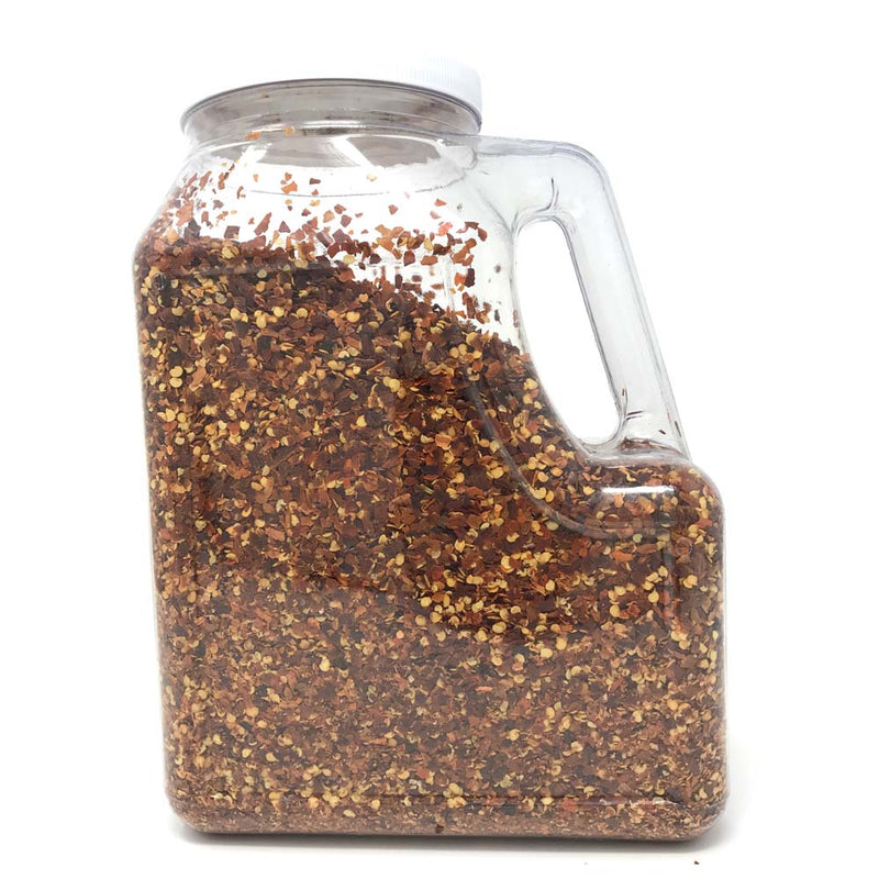 Gel Red Pepper Crushed, 4 LB/BTL