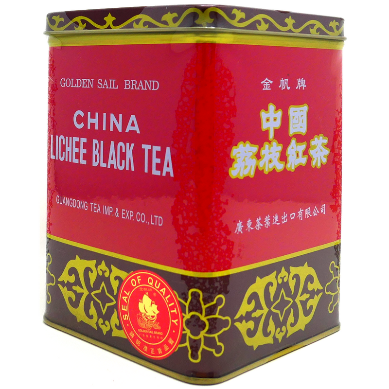 Golden Sail Lychee Black Tea B122, 24x1LB Tin
