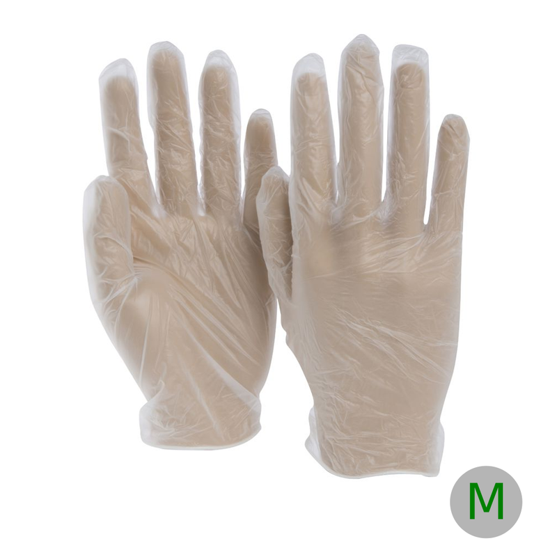Vinyl Glove Powder Free Medium