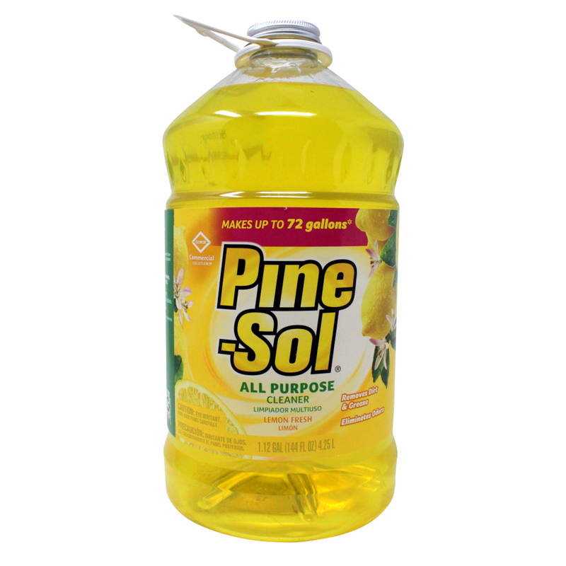 Pine Sol Cleaner Lemon 3x144OZ