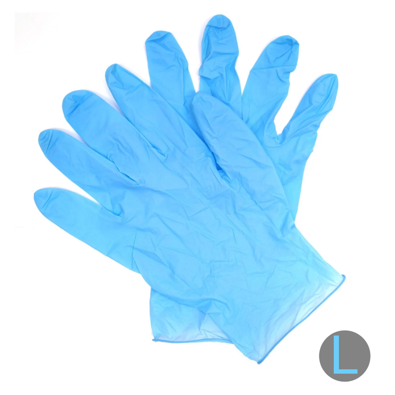 Nitrile Powder-Free Glove Blue 3 Mil (Large)
