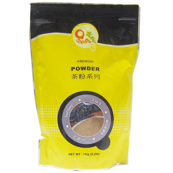 Q Earl Grey Tea Powder