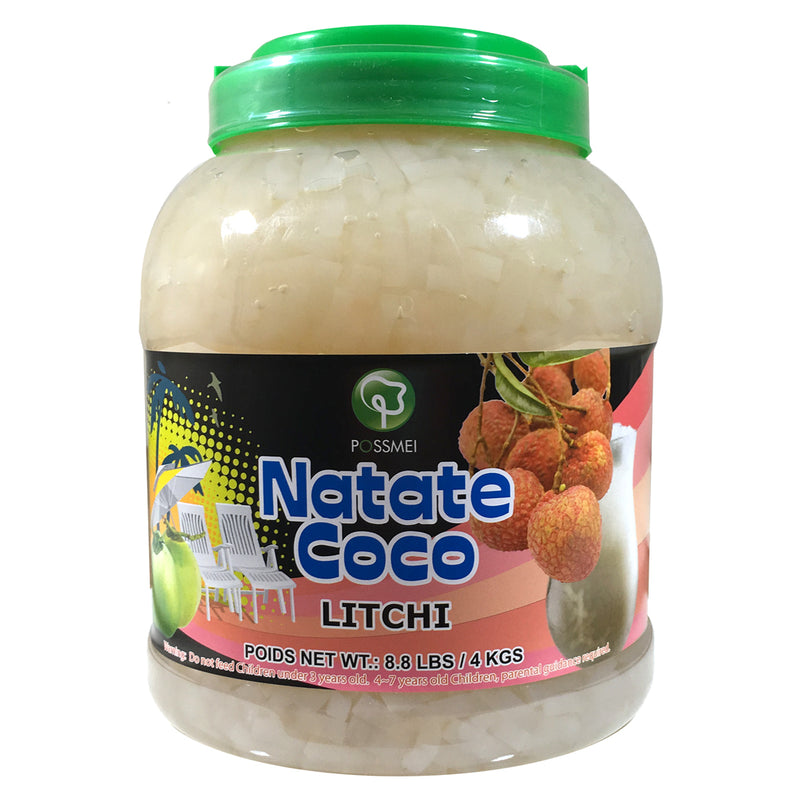 Possmei Litchi Jelly Natate Coco, 4X8.8#