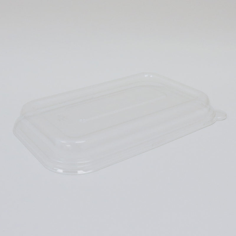 PET-T056D Dome Lid for 32OZ Bagasse Food Tray