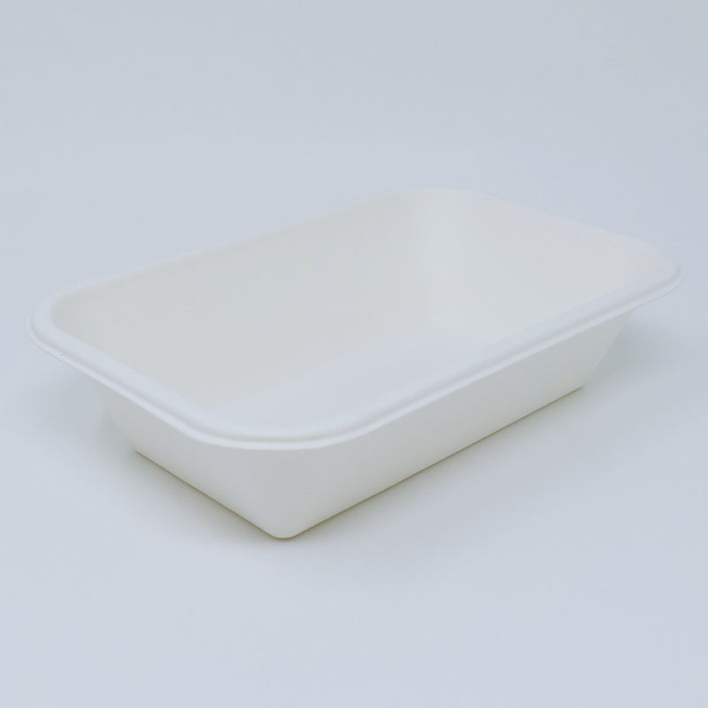 T056 32OZ Bagasse Food Tray