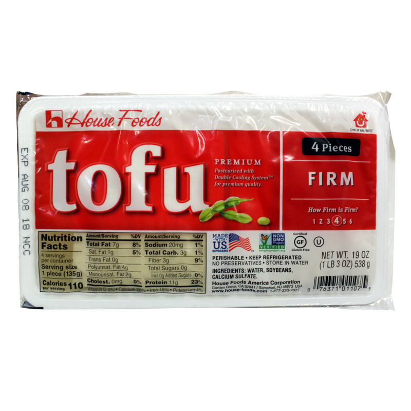 RF Tofu FIRM (Red)