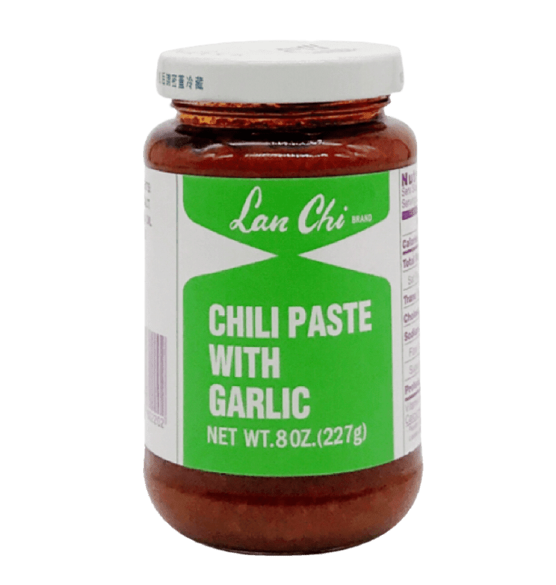 Lan Chi Chili Paste w/ Garlic, 24X8OZ