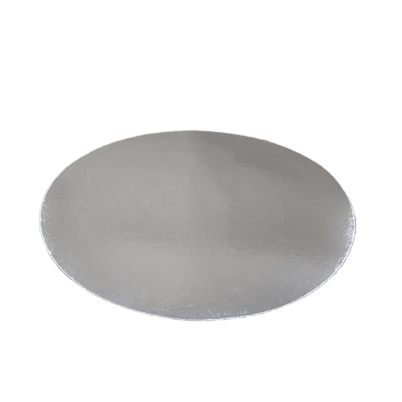"Foil Laminated Board Lid for 7"" Round Foil Pan, 500/CS"