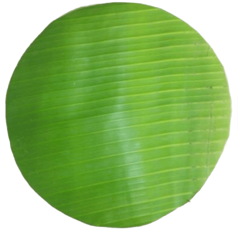 Banana Leaves Round, 16OZ/Bag