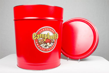 3.5 Gallon Classic Red Tin