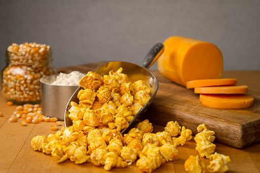 Beer Cheddar Popcorn Ingredients