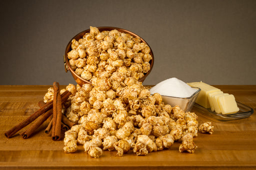 Cinnamon Roll Popcorn Ingredients