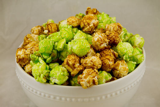 Bowl of Caramel Apple Popcorn