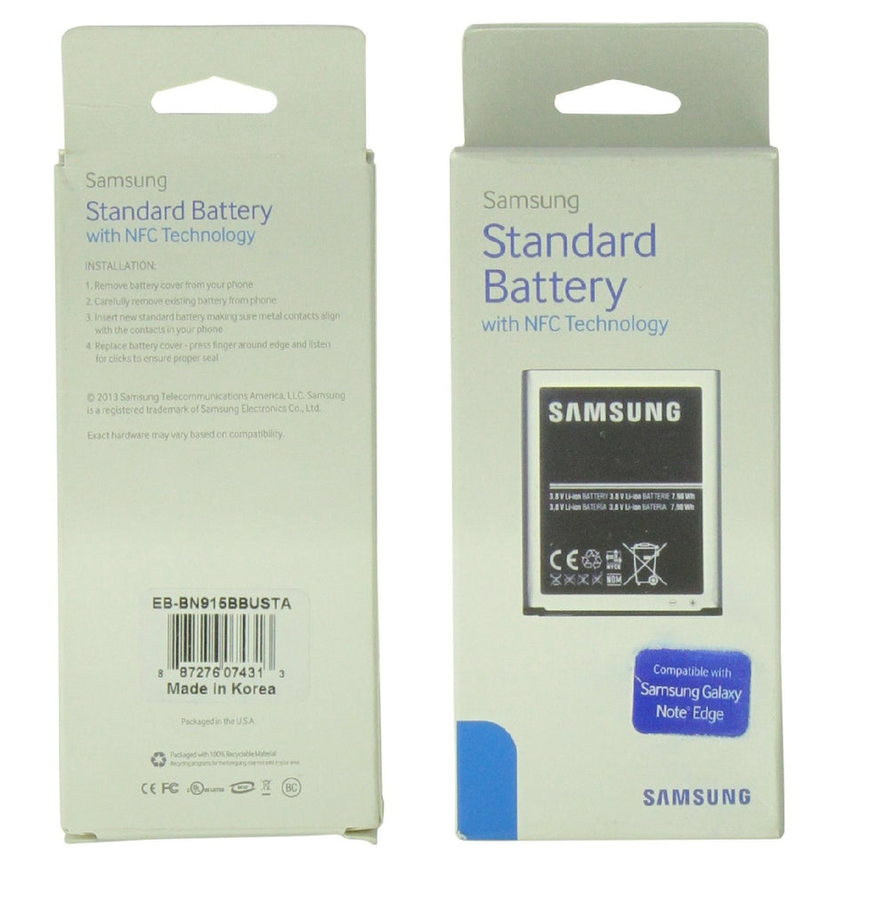 Samsung Battery for Galaxy Note Edge 3220mAh- Retail Packaging - Black