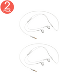 (2x Pack) Samsung Stereo Headset with Three Extra Ear Buds