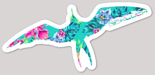 Kluch Floral Frigate Vinyl Decal Sticker