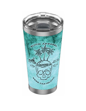 Kluch 20oz Beer Can Island Drinkware Tumbler