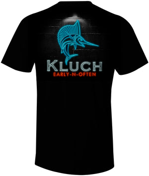 Kluch Early-N-Often Black Short Sleeve