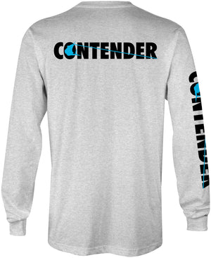 Contender Clean Slate Ash Long Sleeve T Shirt