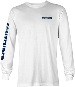 Contender Edge White Long Sleeve T Shirt