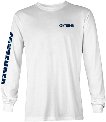 Contender Edge White Long Sleeve