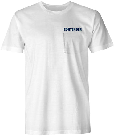 Contender Edge White Short Sleeve