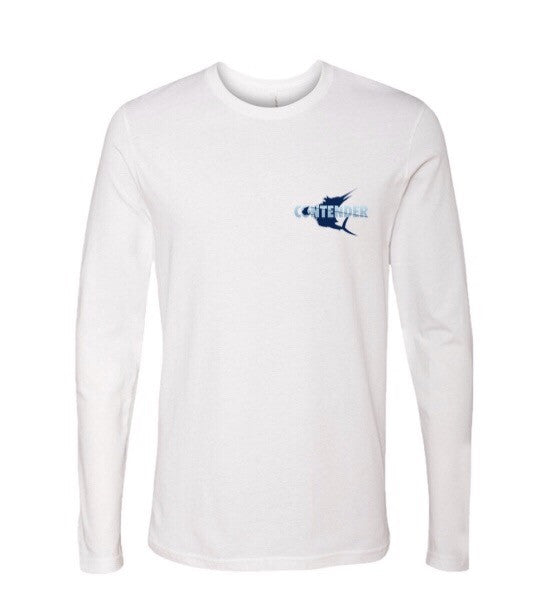 "Contender ""Sick Day"" White Performance Long Sleeve T Shirt"