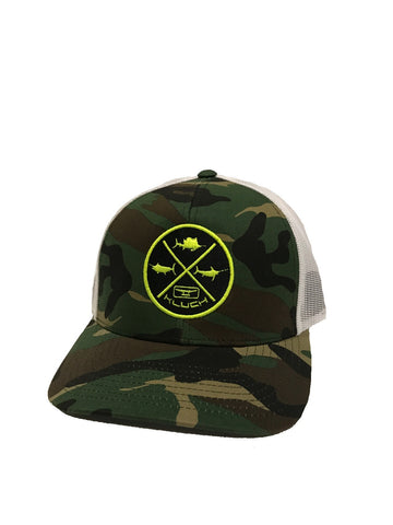 Kluch Grand Slam Army/White Snapback