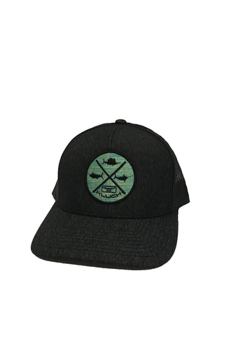 Kluch Grand Slam Black Heather/Black Trucker