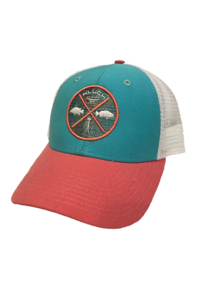 Kluch Dive Slam Azul/White Trucker Hat