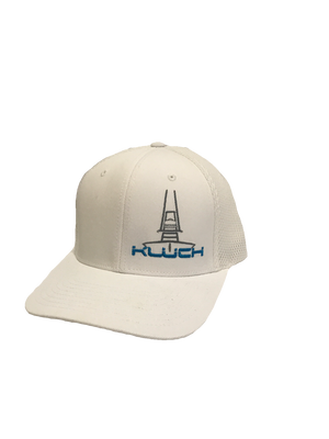 Kluch At You White Performance Fitted Hat