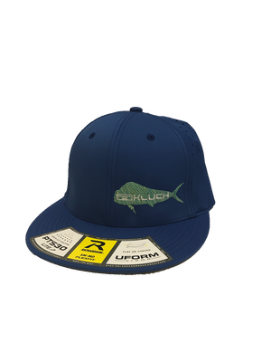 Kluch Dolphin Royal Blue Performance Fitted Hat