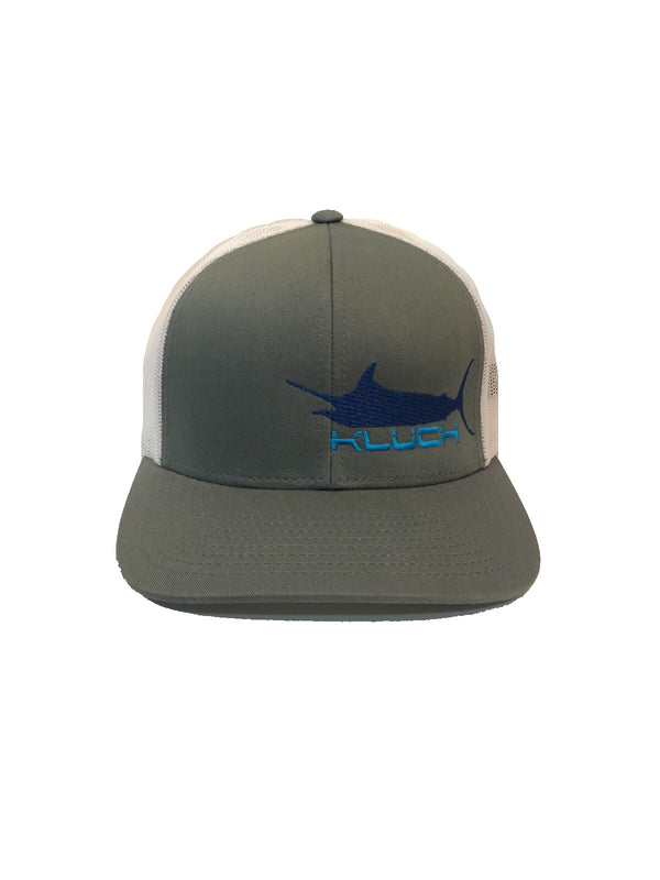 Kluch Marlin Graphite/White Trucker Hat