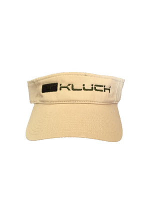 Kluch Classic Cleat Khaki Visor Hat