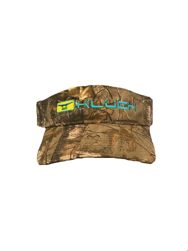 Kluch Classic Cleat Camo Visor Hat
