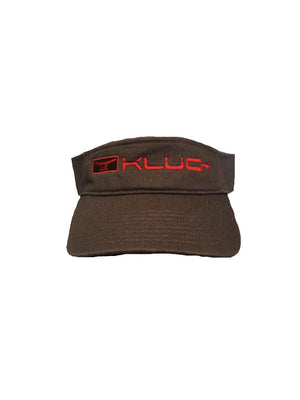 Kluch Classic Cleat Charcoal Visor Hat
