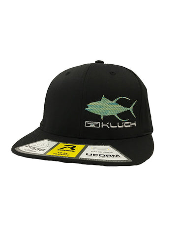 Kluch Tuna Black Performance Fitted Hat