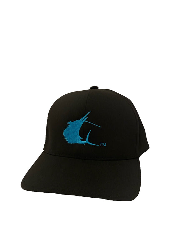 Contender Delta Black Flexfit Hat
