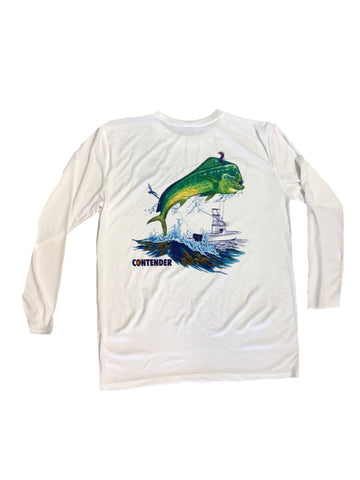 Contender Youth Dolphin Performance Long Sleeve Tee