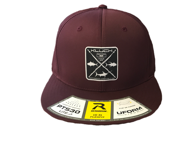 Kluch Harpoon Maroon Performance Hat