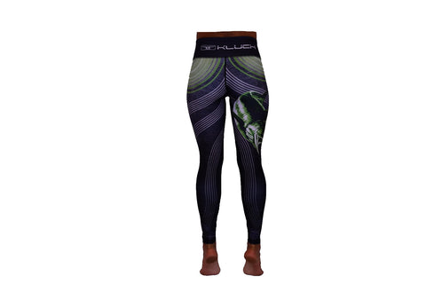 Kluch Swordfish Grunge Womens Black Leggings