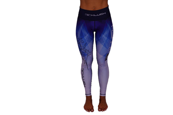Kluch Marlin Prism Womens Blue Leggings