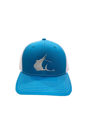 Contender Sailfish Icon Cyan/White Trucker