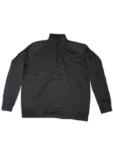 Contender Graphite Heather Performance Mens 1/4 Zip Fleece Jacket