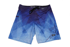 Kluch Marlin Prism Blue Mens Boardshorts